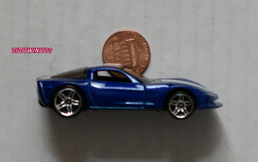 HOT WHEELS CORVETTE C6 KMART EXCLUSIVE ProjoOTYPE - UNSPUN LOOSE W+