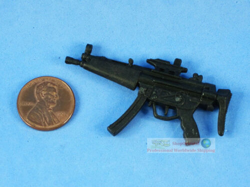 "7/"" Action Figure MP5 Sub Machine Gun Model for 1:11 or 1:12 7/"" Scale DA118"
