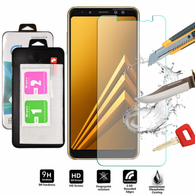 Tempered Glass Shockproof Screen Protector For Samsung Galaxy a6 plus 2018