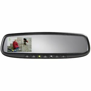 """Advent ADVGENM45S  Auto Dimming Rear View Mirror w/ Homelink 3.3"""" Camera Display"""
