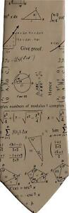 Complex-Maths-Mathematical-Symbols-Equations-Sleeved-Polyester-Novelty-Tie-Gift
