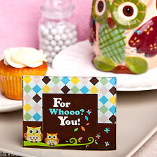 50 Owl Photo Frame Place Card Holder Favor Wedding Bridal Baby Shower Favors