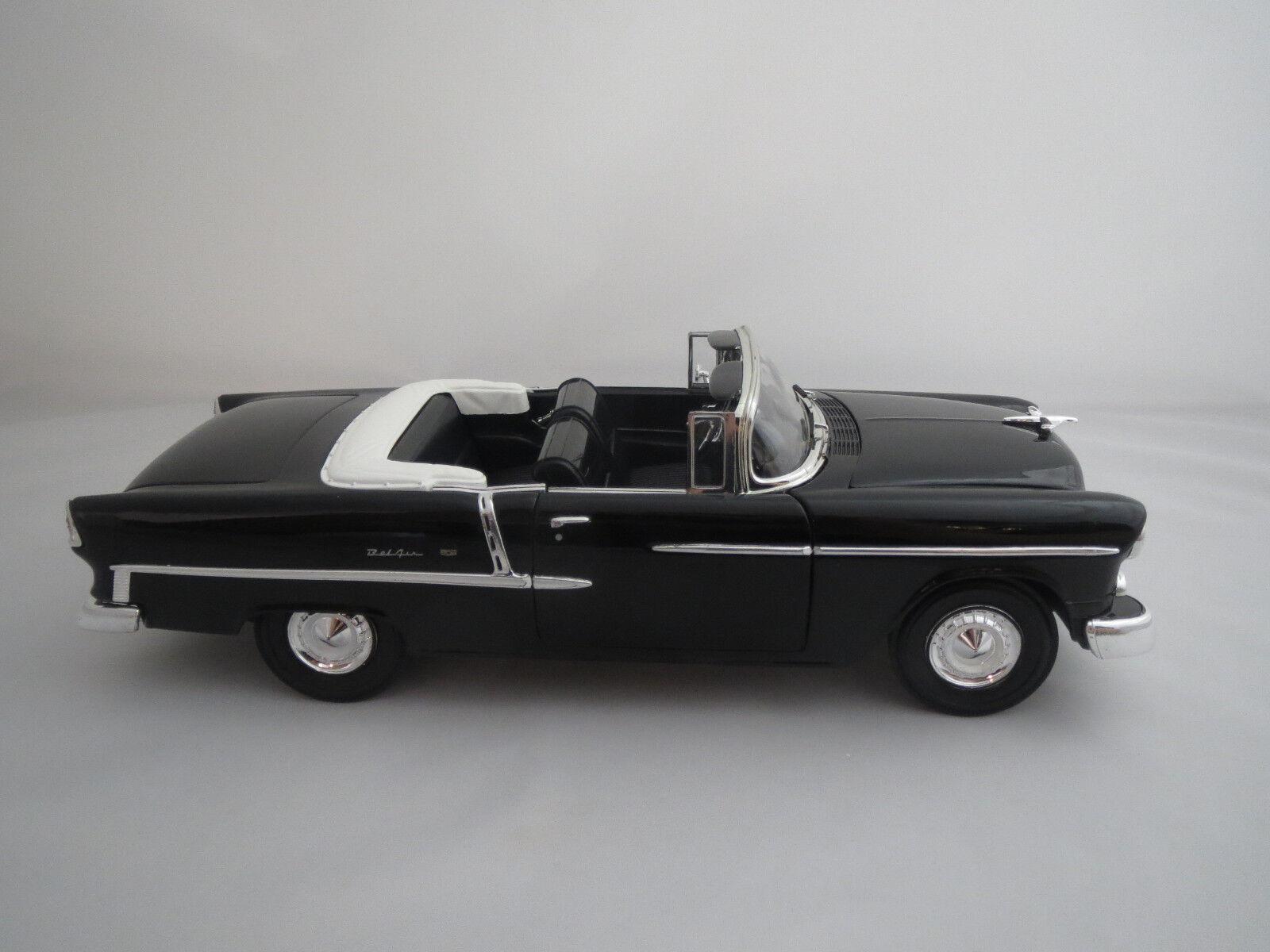 Ertl American muscle Chevrolet Bel Air  1955    (negro) 1 18 sin VP.  01b9c4