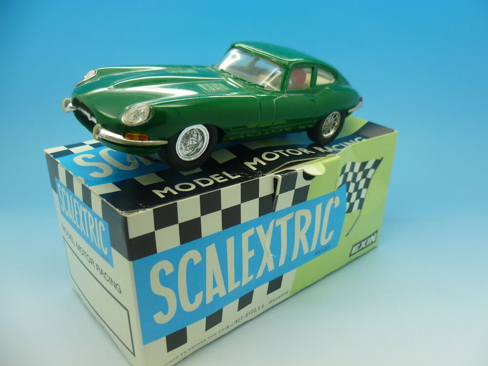 Scalextric C34 Spanish E-type Jag, Green