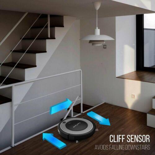 Auto Floor Cleaner w// Mop Sweep Dust /& Vacuum PureClean Smart Robot Vacuum
