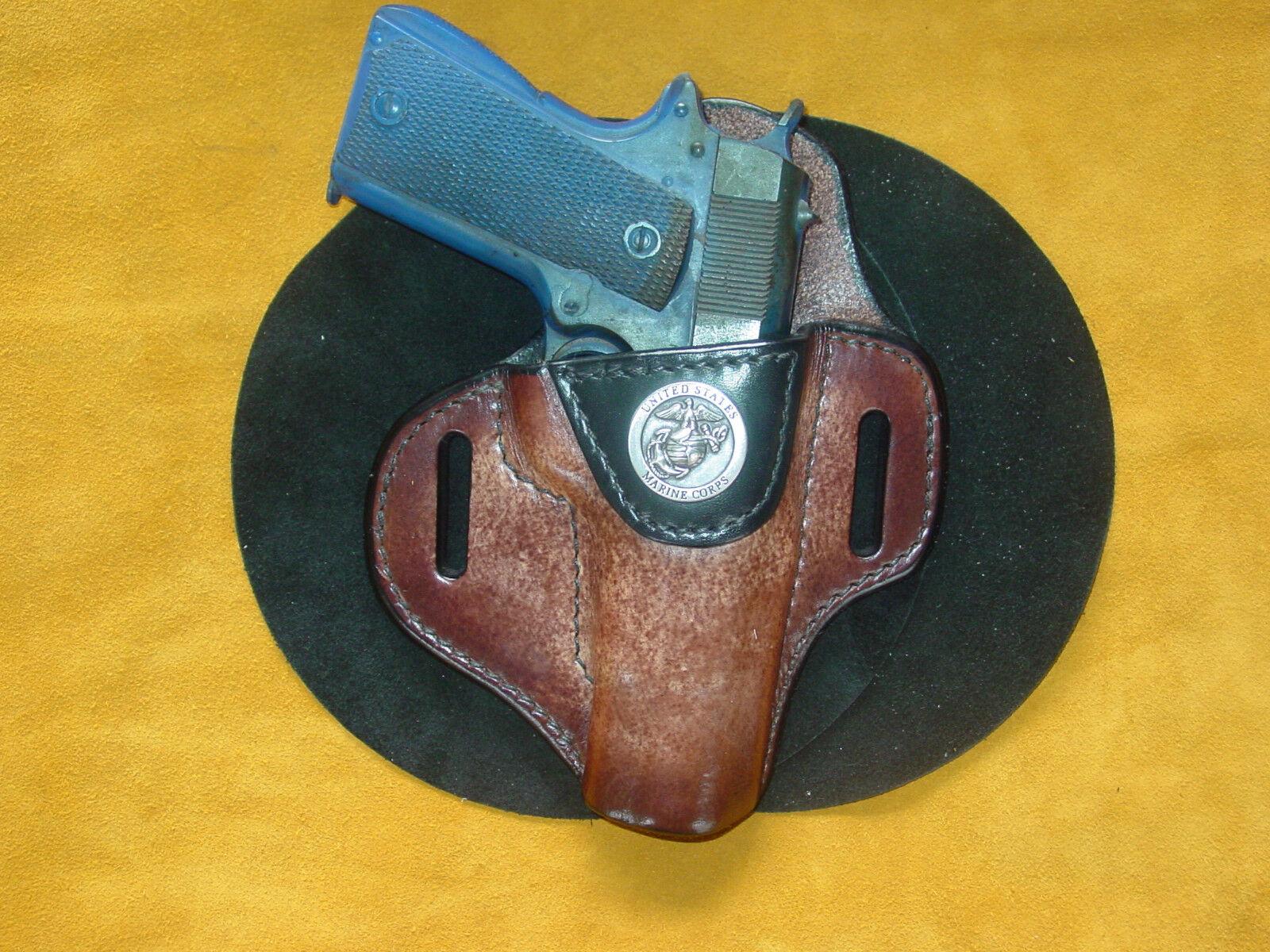Colt Sig Springfield 1911 completo tamaño 5  Funda Marine Bruño Brn Kwik y Gratis