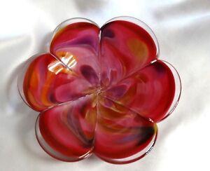Glass-Eye-Studio-Affection-Pink-Flower-Paperweight-Trinket-Dish-722-2