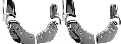 78-88 Hurst//Olds 442 Cutlass Chrome Bucket Seat Hinge Cover Set Passenger Side