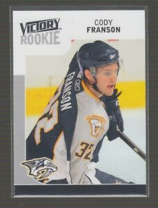 69654-2009-10-UPPER-DECK-VICTORY-ROOKIE-CODY-FRANSON-316-RC