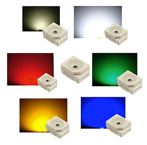 PLCC2-LEDS-3528-waehlbar-in-den-Farben-WEISS-WARMWEISS-ROT-GRUN-BLAU-GELB-ORANGE