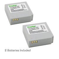 2x Kastar Battery For Samsung Ia-bp85st Bp85nf Hmx-h100 H104 H105 H106