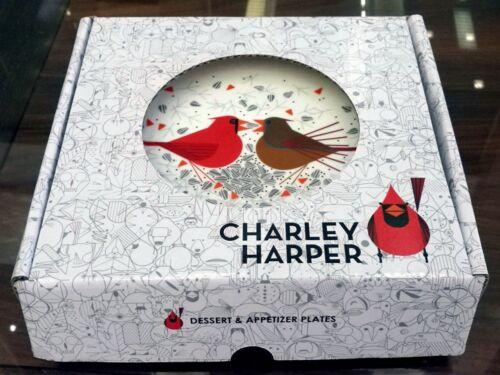 Charley Harper Dessert /& Appetizer Plates