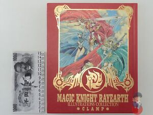 Artbook - Magic Knight Rayearth Illustrations Collection CLAMP
