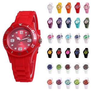 sv24-Silikon-Uhr-Armbanduhr-Watch-Damen-Herren-Quarz-Uhren-Farbwahl-Modellwahl