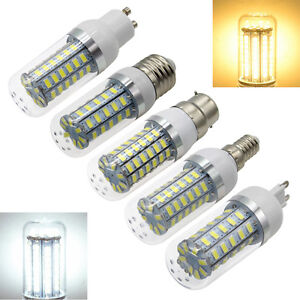 E27-E14-G9-GU10-B22-LED-Corn-Light-Bulb-5730SMD-Energy-Saving-Lighting-Lamp-220V