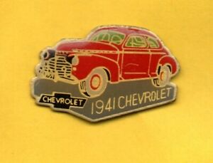 Pin-039-s-pins-Lapel-pin-Car-Voiture-Auto-CHEVROLET-1941-rouge