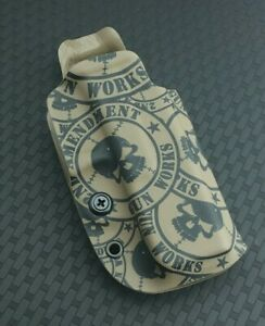 Details about Competition OWB FDE 2AGW Printed Kydex Holster 2nd Amendment  Gun Works Glock 19x