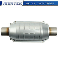 Universal Catalytic Converter 2 Inletoutlet With O2 Port Epa Compliant