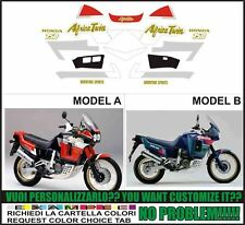 kit adesivi stickers compatibili xrv 750 africa twin rd 04  1991