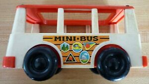 Vintage-Classic-Toy-Fisher-Price-Little-PeopleMini-Bus-1969