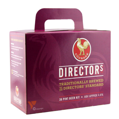 Courage Directors Home Brew beer kit A superior ale making 36 pints.