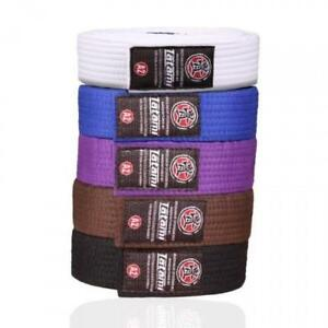 Tatami-BJJ-Belt-Jiu-Jitsu-White-Blue-Purple-Brown-Black-A0-A1-A2-A3-A4-Adults-Gi