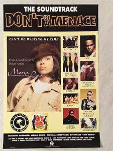 Don-t-Be-A-Menace-1996-Poster-Mona-Lisa-Ghostface-Killa-Wu-Tang-Clan-Rap-Hip-Hop