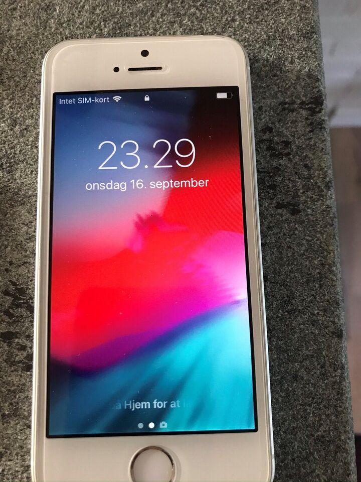 iPhone SE, 64 GB, hvid