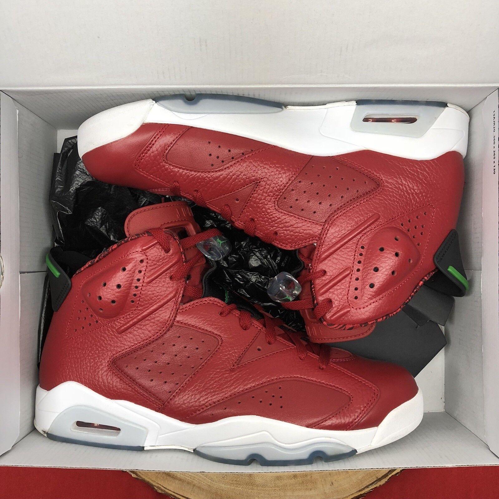 Nike Air Jordan Retro VI Spizike History Of Flight Red October SZ 12 694091 625