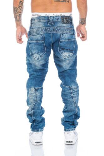 amp; 30 Baxx 36 Neu Nähte 33 34 Cipo Jeans 1178 W28 31 Hose 38 40 Herren 32 29 Blau dP54x4q