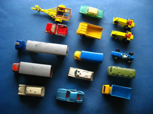 Siku Lesney Modellautos Konvolut mit alten Matchbox