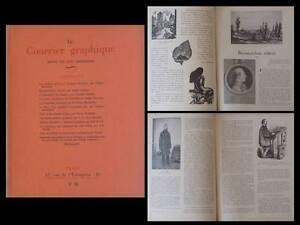 LE-COURRIER-GRAPHIQUE-n-28-1946-BOULLAIRE-BEAUMARCHAIS-EX-LIBRIS-LIVRE