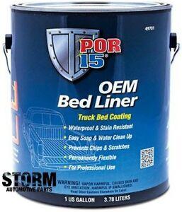 por 15 oem bed liner 49701 1 gallon ebay