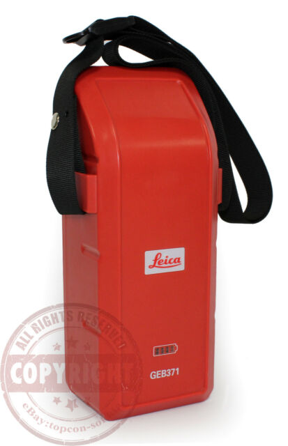 Leica Geb371 External Battery Pack Total Station Gps Tps