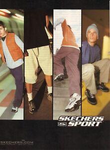 límite hecho recoger  Skechers Sport Tênis de corrida -- 1999 Revista Propaganda   eBay
