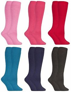 2-paires-femme-epaisse-laine-colorees-hautes-chaussettes-pour-bottes-caoutchouc