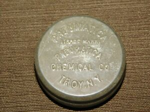 VINTAGE-MEDICINE-1-7-8-034-ACROSS-PNEUMATICA-CHEMICAL-CO-TROY-NY-TIN-EMPTY