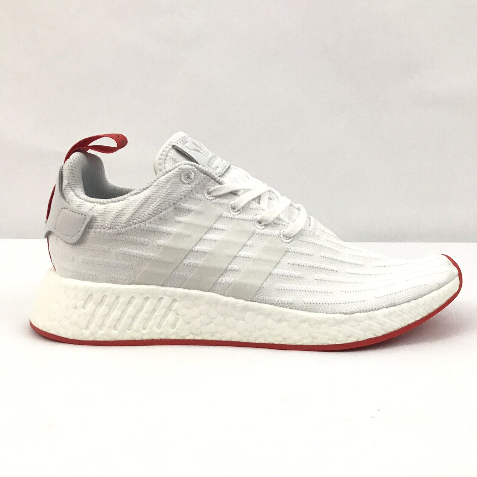 best service ae788 80d9f Adidas NMD R2 Primeknit PK White Core Red BA7253 Mens Two Toned Size 10.  Adidas Porsche 911 2.0L TEX Casual shoes Mens Sneakers Trainers S76121