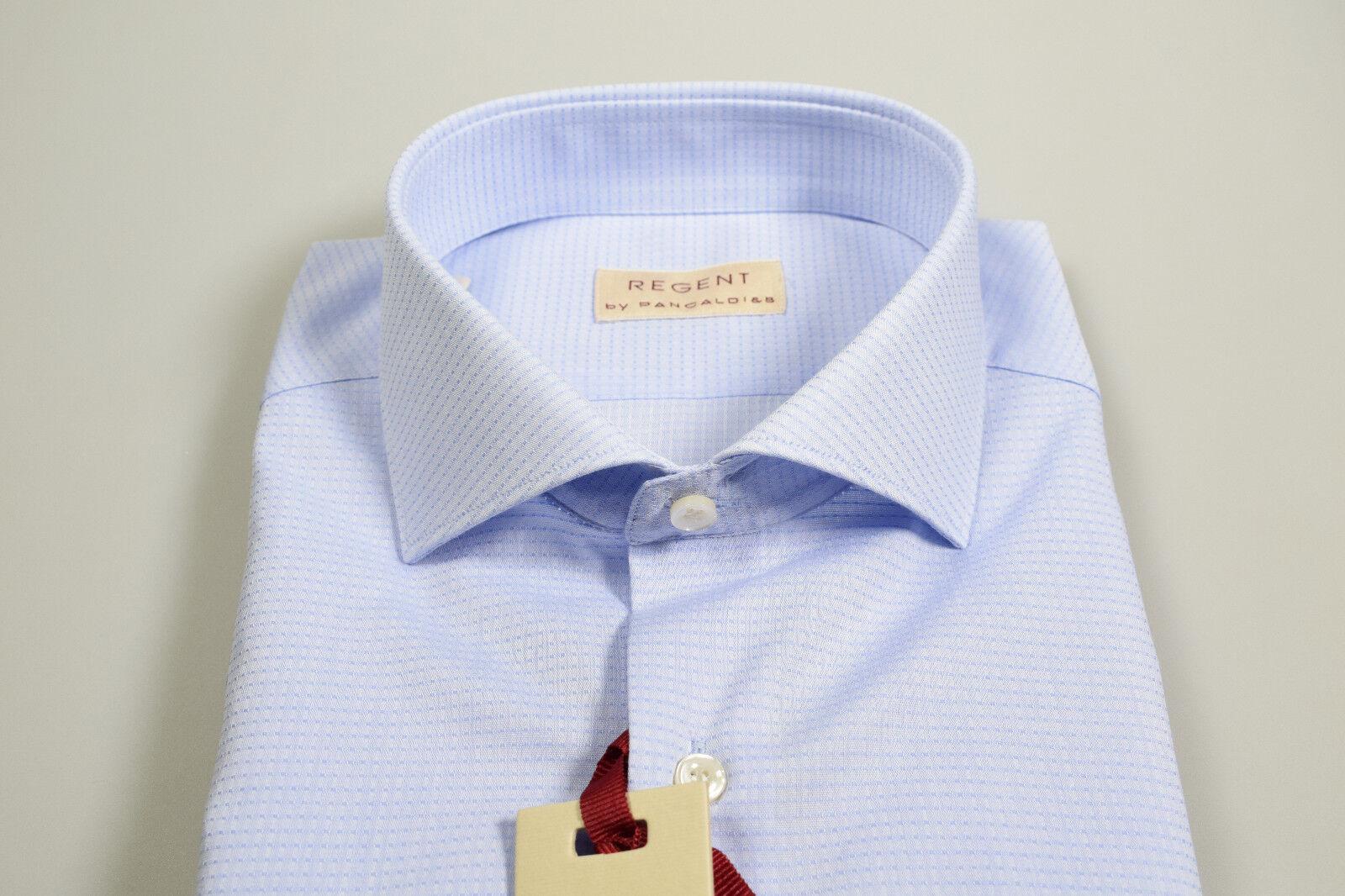 cheaper 3e3f4 0fa2c Pancaldi Slim Camicia Collo By Regent Fit Aq3j54RL