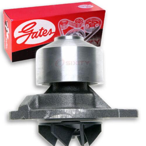 Gates Engine Water Pump for 2007-2010 Dodge Ram 3500 6.7L L6 Coolant fk
