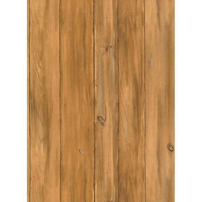 Lakeforest Barnwood Cedar Wood on Sure Strip Wallpaper WL5540