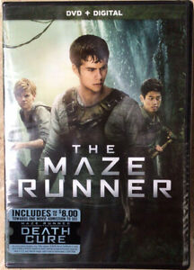 The-Maze-Runner-DVD-2014-NEW-SPECIAL-FEATURES-Dylan-O-Brien-Ships-FREE-Tomor