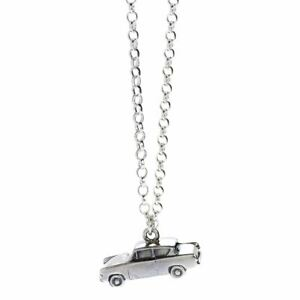 Harry Potter Sterling Silver Ford Anglia Flying Car Necklace Pendant - Boxed