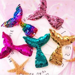 Mermaid-Tail-Cake-Topper-Sequins-Baby-Shower-Birthday-Cupcake-Decoration-LA