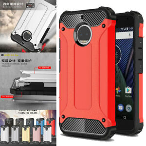Pour-Motorola-Moto-G6-G6-Plus-2018-Hybride-Robuste-Armure-Coque-Protectrice