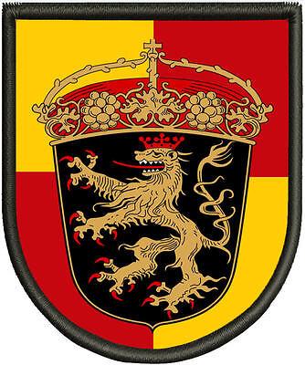 Pin Aufnäher Premium  Aufnäher Wappen von Strausberg  Patch