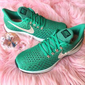 6c6deb70157 Bling Nike Air Zoom Pegasus 35 Women s Shoes w  Swarovski Crystal ...