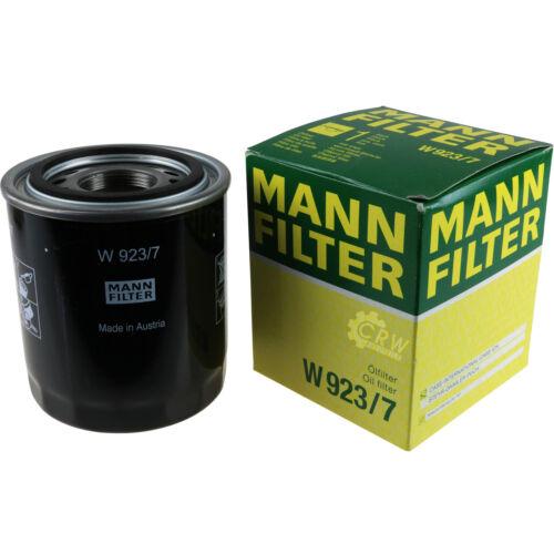 MANN-FILTER Hydraulikfilter für Automatikgetriebe Getriebefilter W 923//7