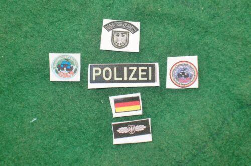 1//6 German Polizei GSG9 SWAT special forces patches