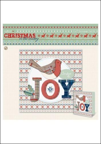 hace 1 tarjeta Bnip Papermania Navidad en el país de fabricación de tarjetas Kit